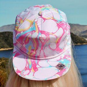 The Lilou OOAK Wearable Art Unisex Snapback Hat